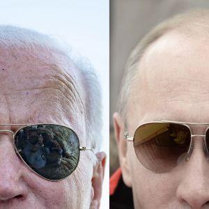 Joe Biden och Vladimir Putin