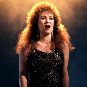Virve Rosti edusti Suomea euroviisuissa 1987
