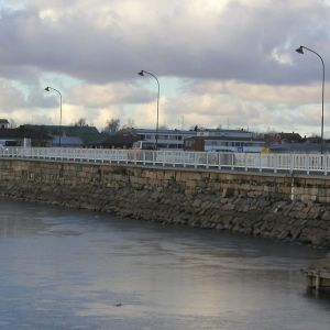 Stadsbron i Kristinestad.