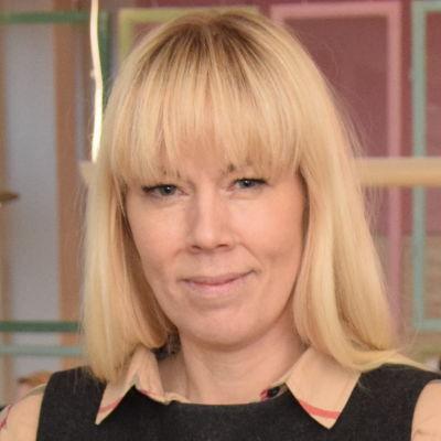 Monica Javanainen jobbar i Fixhuset i Ekenäs.