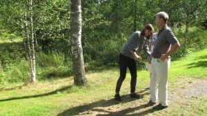 Inspelning av Stugor med arkitekt Jukka Sirén