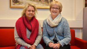 Ilse Klockars och Ulrica Isaksson.