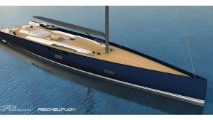 Baltic Yachts 130-fots kolfiberbåt