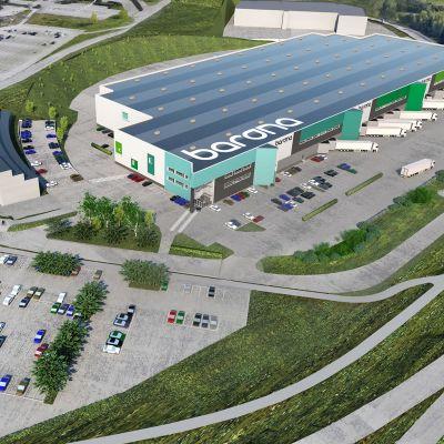 Vantaan Aviapolikseen nousee 33 000 neliömetrin uusi logistiikkakeskus.