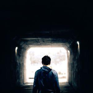 man i tunnel