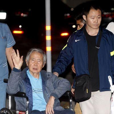 Alberto Fujimori vapautui sairaalasta.
