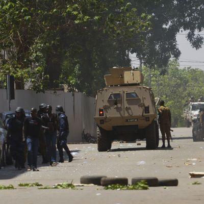 Burkina Fason terrorihyökkäys