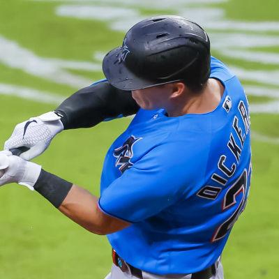 Miami Marlins spelar baseball.
