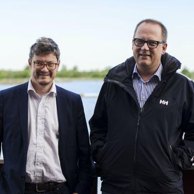 Rurik Ahlberg och Tomas Häyry