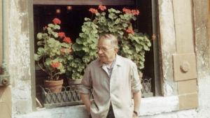 Jean-Paul Sartre i Venedig i augusti 1967.