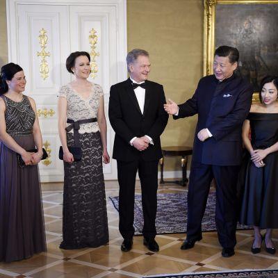 Presidentti Niinistö ja Xi Jinping