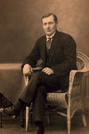 Antti Heikkinen vuonna 1917.