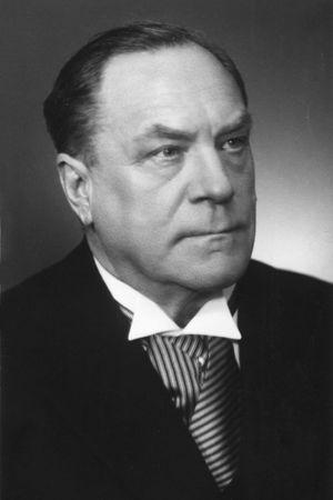 Säveltäjä Heino Kaski noin 50-vuotiaana.