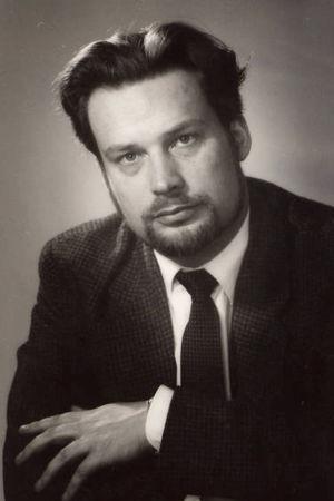 Säveltäjä Usko Meriläinen noin 1960.