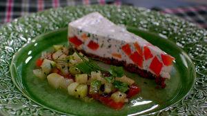 Ceviche och cheesecake