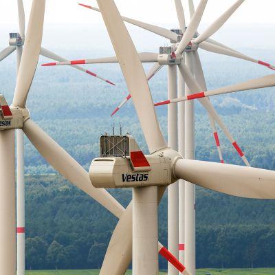 Tuulivoimapuisto Parchimissa.