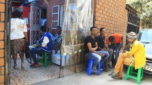 Många eritreaner flyr till Finland
