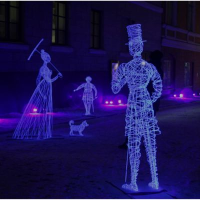 "Alexander Reichsteins verk ""They Were Here/De var här"" kan ses i Jerusalem under festivalen Ghostly Guests samt på gruvmuseet i Lojo. 2018."