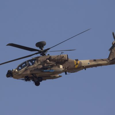 Israelilainen Apache-taisteluhelikopteri