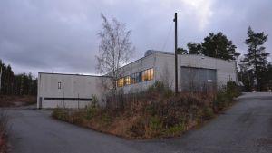 Pargas IF bygger om två industrihallar till en idrottshall. Hösten 2015.
