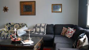 Gruppfamiljedaghemmet Casablancas vardagsrum i Ekenäs.