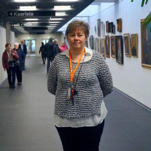 Stadsdirektör Stina Mattila.