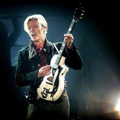 Kuva David Bowien konsertista Kööpenhaminassa vuonna 2003.