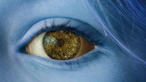 stiliserad bild av öga