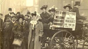 Christabel Pankhurst i Manchester