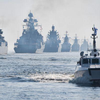 Venäjän merivoimien näytös