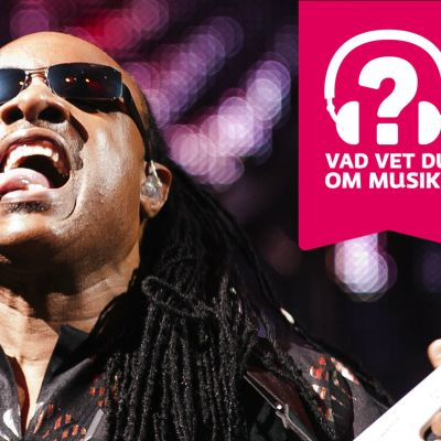Stevie Wonder räcker ut tungan.