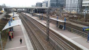 Kottby tågstation.