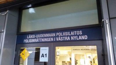 Polisinrättningen i Västra Nyland