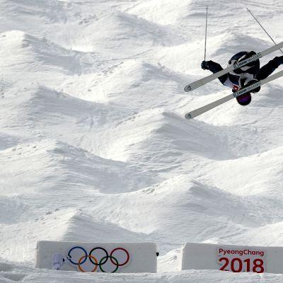 Jussi Penttala olympialaisissa 2018.