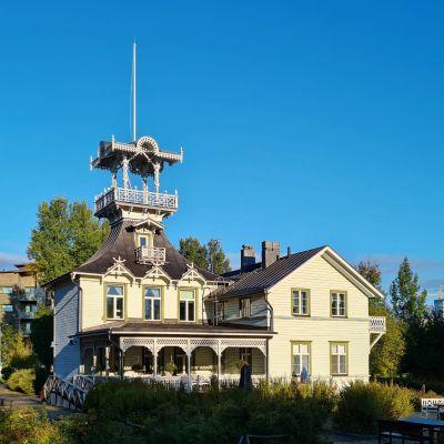 Villa Hannalan vanha huvila Oulussa