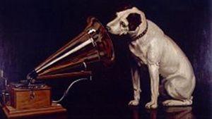 logo klassiska hunden som trademark