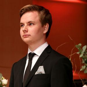 Ossi Tanner voitti Tampereen pianokilpailun 2017.