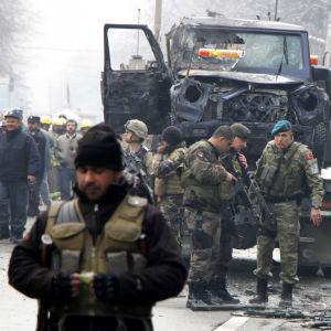 Turkkilaisia sotilaita Afganistanissa.
