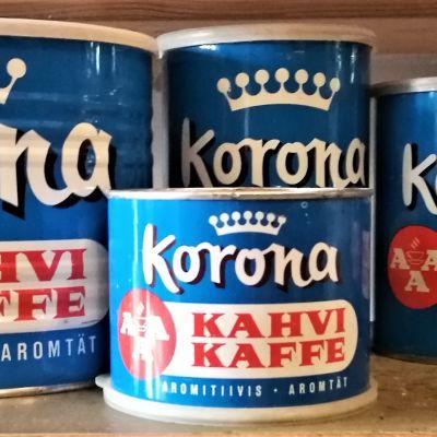 Korona coffee from the 1950s