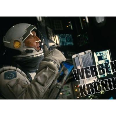 Bild från filmen Interstellar.