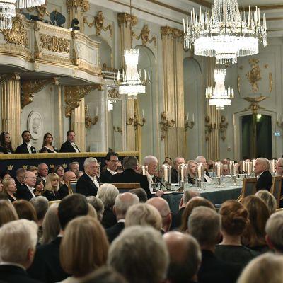 Ruotsin Akatemian vuosikokous joulukuussa 2017.
