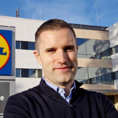 Nicholas Pennanen on Lidl-kauppaketjun uusi toimitusjohtaja 1. lokakuuta alkaen.
