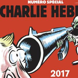 Detalj ur satirtidningen Charlie Hebdos pärm