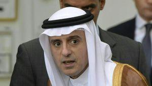 Saudiske utrikesministern Adel al-Jubeir  i Wien i oktober 2015.