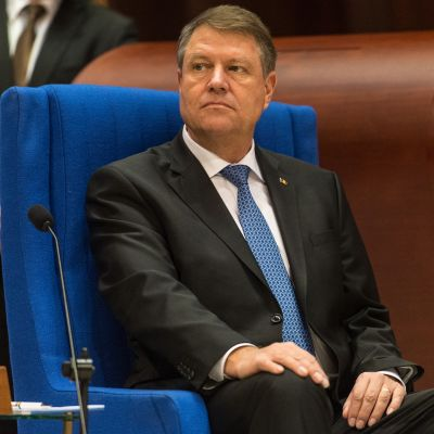 Klaus Werner Iohannis, Romanian presidentti