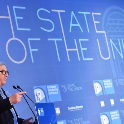 EU:n komission puheenjohtaja Jean-Claude Juncker