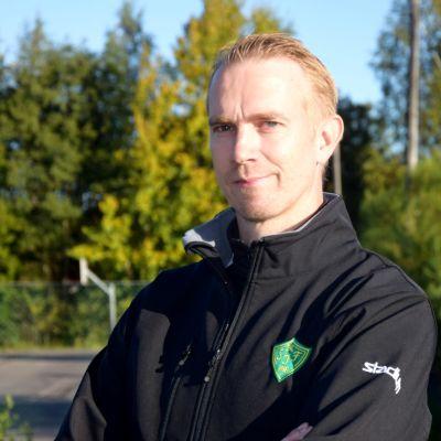 Porträttbild på Marcus Sjöstedt.