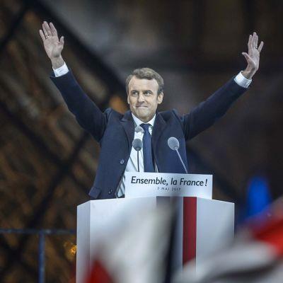 Ranskan tuleva presidentti Emmanuel Macron