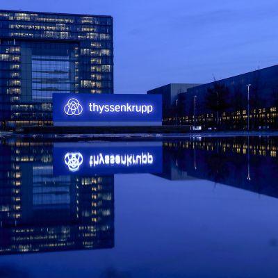ThyssenKruppin pääkonttori Essenissä.
