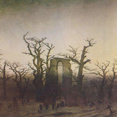 Caspar David Friedrich: Abtei im Eichenwald (1808-1810)